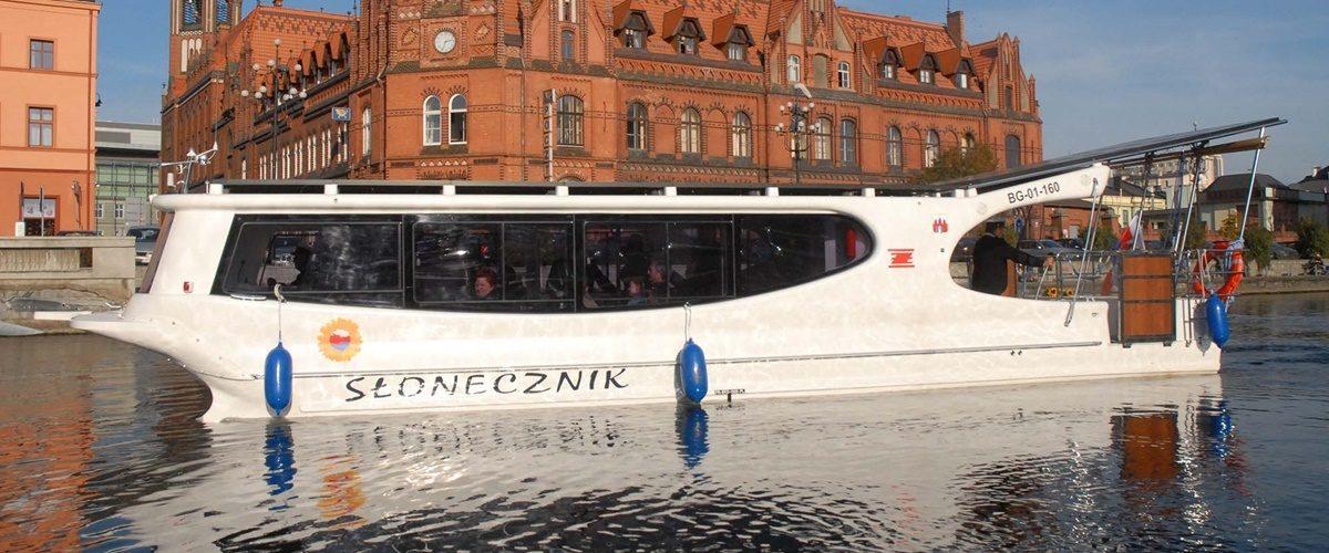 Water Tram in Bydgoszcz